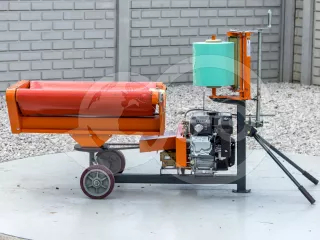 Bale wrapper for Komondor RKB850 and RKB870 round balers (1)