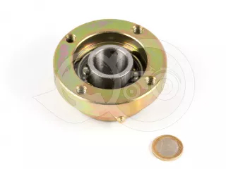Bearing with housing for cutting height adjusting roller of EFGC flail mowers (1)