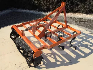 Cultivator 110 cm, with clod crusher, for Japanese compact tractors, Komondor SKU-110 (1)