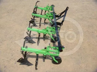 Cultivator with 4 hoe units, with hiller, for Japanese compact tractors, Komondor SK4 (1)