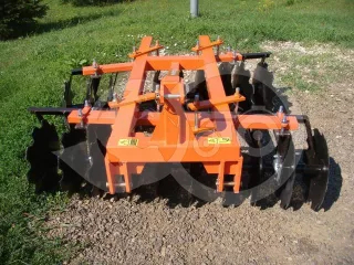 Disc harrow 160 cm, for Japanese compact tractors, Komondor SFT-160 (1)