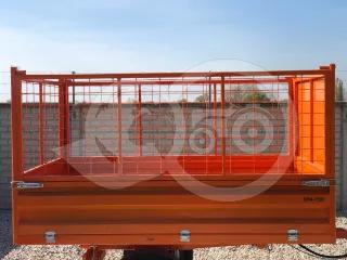 Extra high side panel kit(wire mesh) for Komondor SPK series trailers (1)