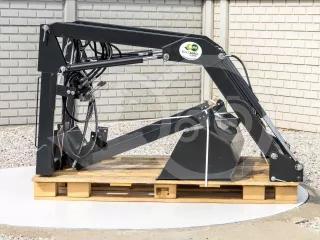 Front loader for Iseki TA215F, TA235F, TA255F, TA275F Japanese compact tractors, Komondor MHR-100TA (1)