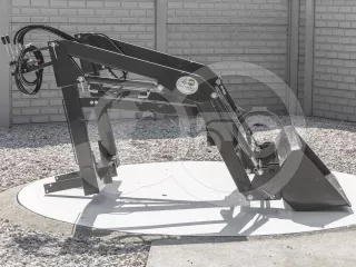 Front loader for Kubota X-20 Japanese compact tractors, Komondor MHR-100X20 (1)