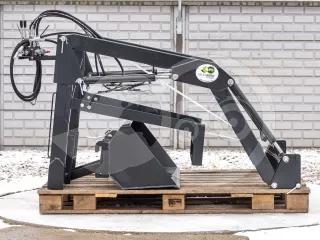 Front loader for Mitsubishi MT200 Japanese compact tractors, Komondor MHR-100MT200 (1)