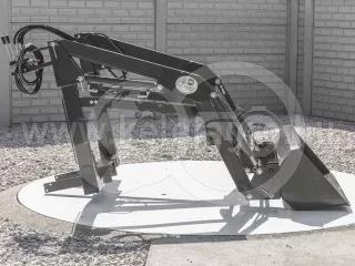 Front loader for Yanmar F165D, FX165D Japanese compact tractors, Komondor MHR-100F165D (1)