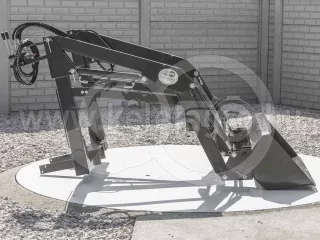Front loader for Yanmar RS27D Japanese compact tractors, Komondor MHR-100RS27D (1)