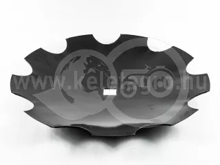 Harrow disc, 460mm, notched, AsahiParts, set of 10 pieces, SPECIAL PRICE! (1)