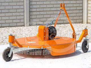 Finishing mower 100 cm, for anticlockwise PTO Japanese compact tractors, Komondor SFNY-100F (2)