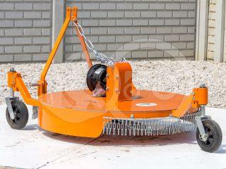 Finishing mower 100 cm, for anticlockwise PTO Japanese compact tractors, Komondor SFNY-100F (4)