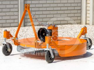 Finishing mower 100 cm, for anticlockwise PTO Japanese compact tractors, Komondor SFNY-100F (6)
