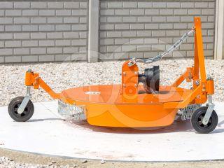 Finishing mower 100 cm, for anticlockwise PTO Japanese compact tractors, Komondor SFNY-100F (1)