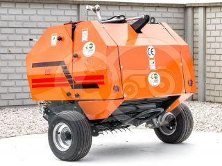 Round baler  for Japanese compact tractors, 50x70cm, Komondor RKB-850 (4)