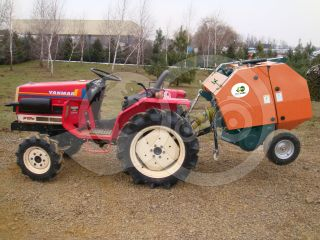 Round baler  for Japanese compact tractors, 50x70cm, Komondor RKB-850 (8)