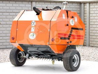 Round baler  for Japanese compact tractors, 60x70cm, Komondor RKB-870 (2)