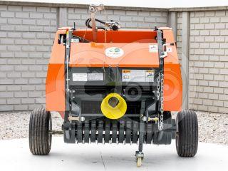Round baler  for Japanese compact tractors, 60x70cm, Komondor RKB-870 (7)