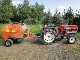 Round baler  for Japanese compact tractors, 60x70cm, Komondor RKB-870 (8)