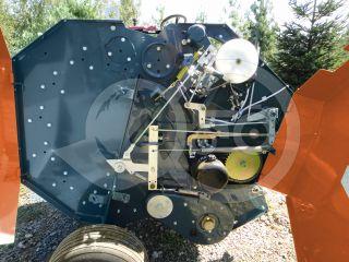 Round baler  for Japanese compact tractors, 60x70cm, Komondor RKB-870 (9)