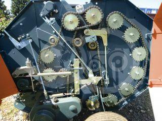 Round baler  for Japanese compact tractors, 60x70cm, Komondor RKB-870 (10)