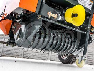 Round baler  for Japanese compact tractors, 60x70cm, Komondor RKB-870 (12)
