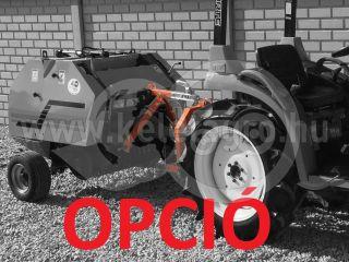 Round baler  for Japanese compact tractors, 60x70cm, Komondor RKB-870 (17)