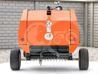 Round baler  for Japanese compact tractors, 60x70cm, Komondor RKB-870 (3)