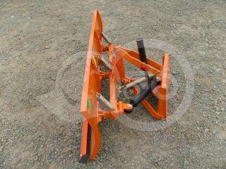 Snow plow 140cm, hidraulic lifting, hidraulic angle adjustment, for Japanese compact tractors, Komondor STLRH-140 (4)