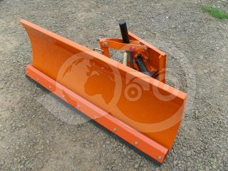 Snow plow 140cm, hidraulic lifting, hidraulic angle adjustment, for Japanese compact tractors, Komondor STLRH-140 (5)