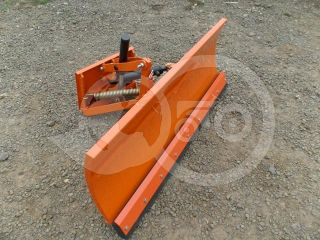 Snow plow 140cm, hidraulic lifting, hidraulic angle adjustment, for Japanese compact tractors, Komondor STLRH-140 (7)