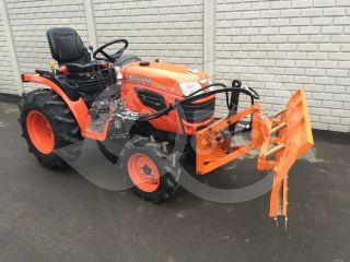 Snow plow 140cm, hidraulic lifting, hidraulic angle adjustment, for Japanese compact tractors, Komondor STLRH-140 (9)