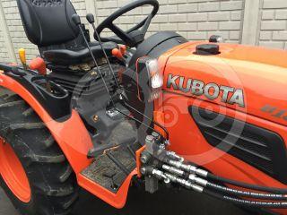 Snow plow 140cm, hidraulic lifting, hidraulic angle adjustment, for Japanese compact tractors, Komondor STLRH-140 (10)