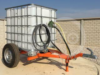 Irrigation trailer for Japanese compact tractors, Komondor SOP-1000 (0)