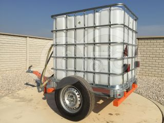 Irrigation trailer for Japanese compact tractors, Komondor SOP-1000 (4)