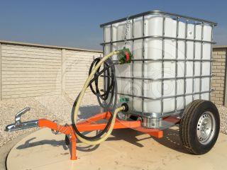Irrigation trailer for Japanese compact tractors, Komondor SOP-1000 (6)