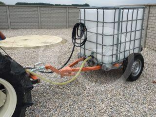 Irrigation trailer for Japanese compact tractors, Komondor SOP-1000 (12)