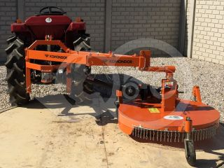 Finishing mower 100 cm, for Japanese compact tractors, side mounted, Komondor SFNY-100K (0)