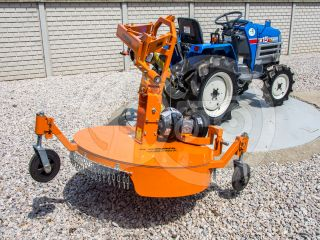 Finishing mower 100 cm, for Japanese compact tractors, side mounted, Komondor SFNY-100K (1)