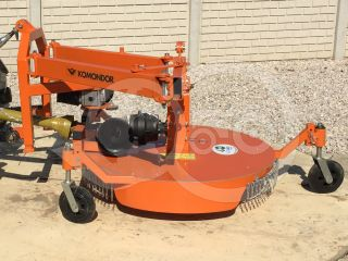 Finishing mower 100 cm, for Japanese compact tractors, side mounted, Komondor SFNY-100K (8)