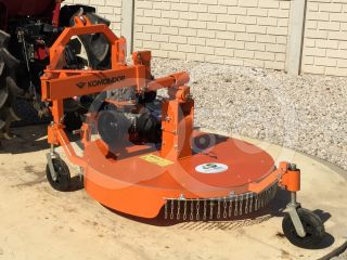 Finishing mower 100 cm, for Japanese compact tractors, side mounted, Komondor SFNY-100K (9)