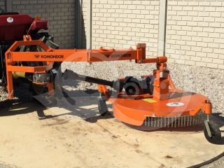 Finishing mower 100 cm, for Japanese compact tractors, side mounted, Komondor SFNY-100K (10)