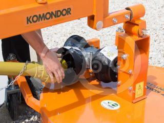 Finishing mower 100 cm, for Japanese compact tractors, side mounted, Komondor SFNY-100K (11)