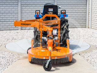 Finishing mower 100 cm, for Japanese compact tractors, side mounted, Komondor SFNY-100K (5)