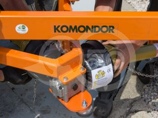 Finishing mower 100 cm, for Japanese compact tractors, side mounted, Komondor SFNY-100K (7)
