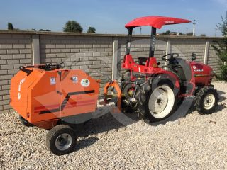 Universal towing device for round baler Komondor RKB-850/870  (6)
