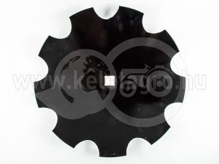 Harrow disc, 460mm, notched, set of 10 pieces, SPECIAL PRICE! (7)