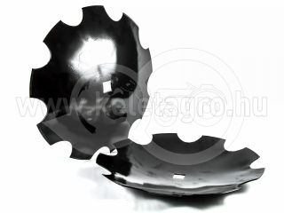 Harrow disc, 460mm, notched, set of 10 pieces, SPECIAL PRICE! (6)