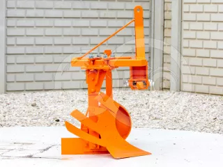 Plow with 1 head, for 9-16HP Japanese compact tractors, Komondor SER-1 (1)