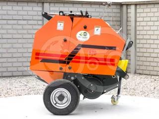 Round baler  for Japanese compact tractors, 60x70cm, Komondor RKB-870 (1)