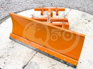 Snow plow 140-200cm, for forklift trucks, Komondor STLR-140-200/targ (1)