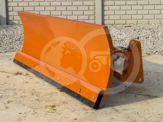 Snow plow 140cm, for front loader, Komondor STLR-140/FL (1)
